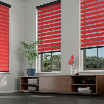 Red Senses Mirage Blinds