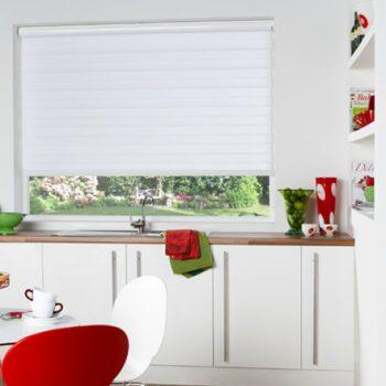 White vision twist blinds