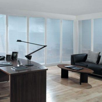 White Office Perfect Fit Blinds