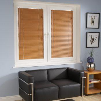 small wooden blinds
