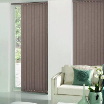 neutral vertical blinds