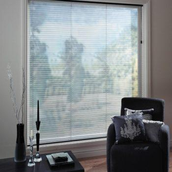 pleated blinds in grey colour