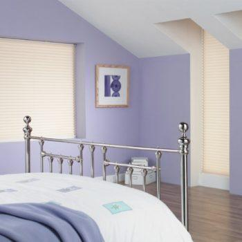 pleated blinds for bedrooms