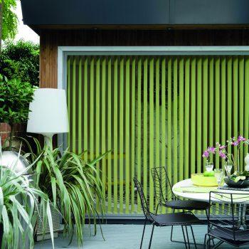 lime vertical blinds