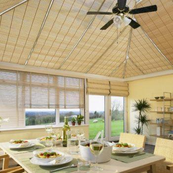 Birch conservatory venetian blinds