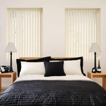 Corduroy Cream vertical blinds