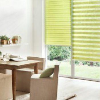 green duette blinds