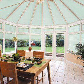 Pale Green Perfect Fit Blinds