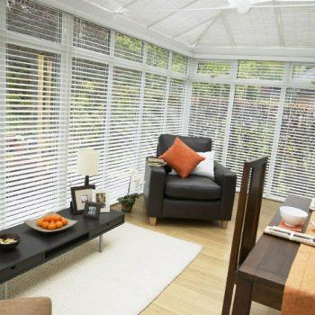 Snowberry conservatory venetian blinds