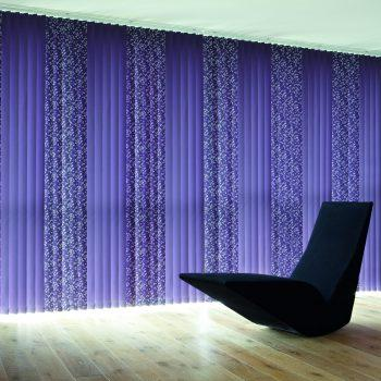 Splash Port vertical blinds