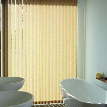 natural vertical blinds