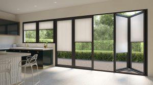 neutral bifold door blinds