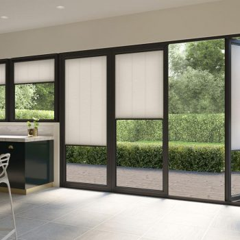 neutral bifold door blinds