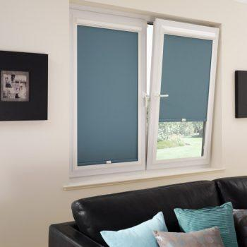 Teal Perfect Fit Blinds