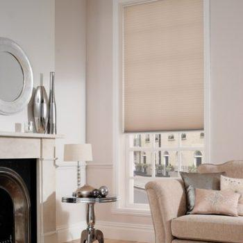 pebble pleated blinds