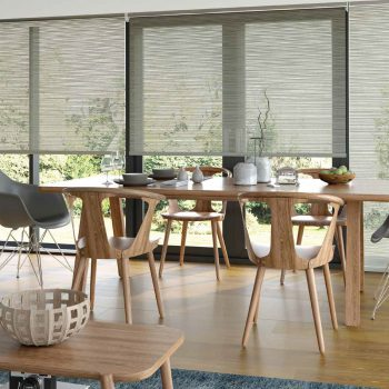 ivory motorised blinds