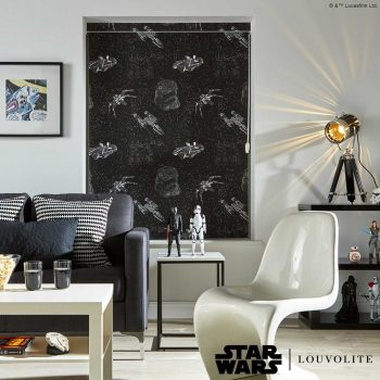 star wars printed blinds