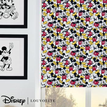 mickey mouse printed blinds