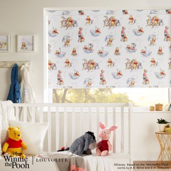 winnie the pooh printed blinds