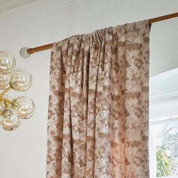 light brow eyelet curtains