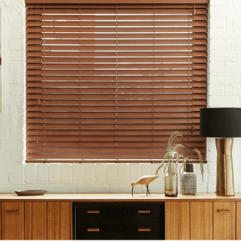 Faux Wood blinds in Grimsby
